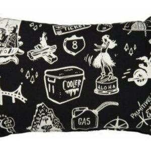 Primitives by Kathy Accents - Primitives by Kathy Black Hawaii Pillow